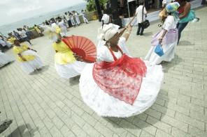 A magia do movimento circular das baianas