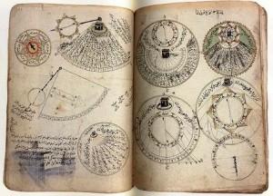 Manuscrito científico preservado em Timbuktu, um grande centro urbano do Mali