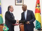 ministro dos negocios estrangeirosd Moçambique e min das rel ext do Brasil
