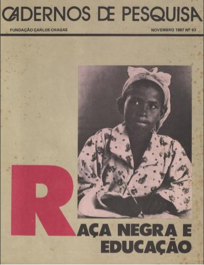 CAPA DA REVISTA RAÇA NEGRA E EDUCAÇÃO