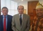 PRESIDENTE DA CAMARA DE COMÉRCIO E MINISTRO DAS RELAÇÕES EXTERIOR DO BRASIL