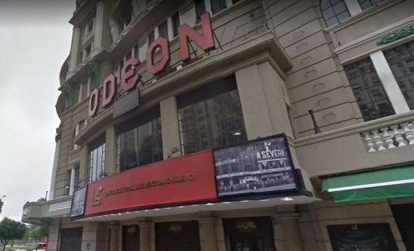 Entrada do Cine Odeon no Rio de Janeiro / Imagem retirada da Internet